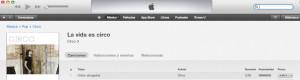 Popularidad iTunes